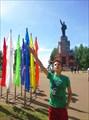 Памятник Ленину постамент нач. 20, Центральный парк, Кострома