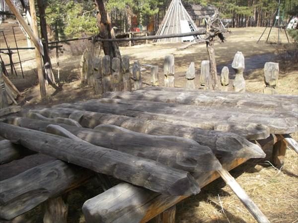 жилище шамана