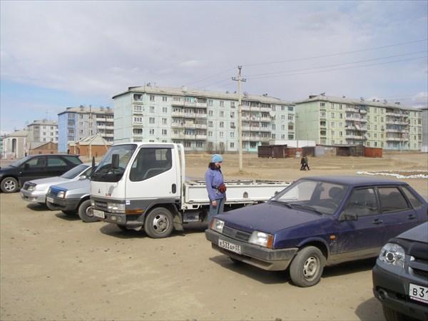 Вика и грузовичек Евгенния