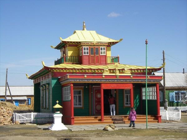 Храм для освещения хий моринов