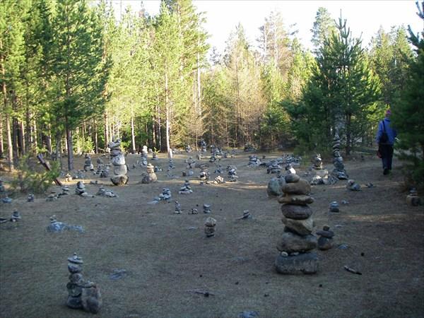Каменная пона у Аршанскго дацана
