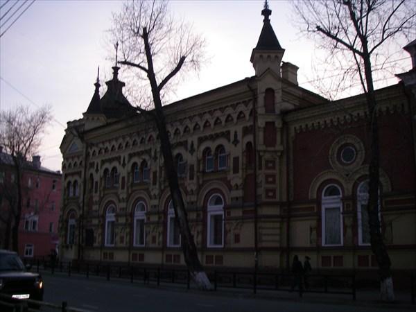 Иркутск, здание старинное