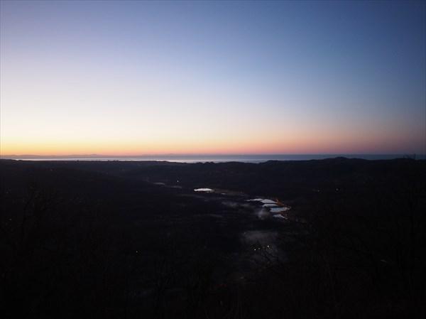 на фото: Первый рассвет