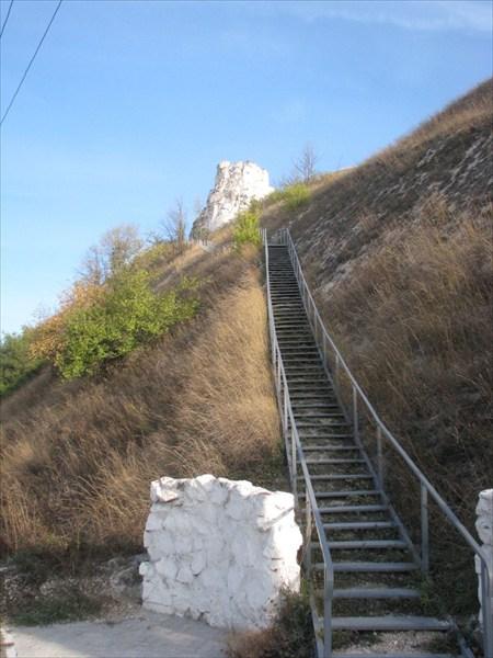 Лестница к храму