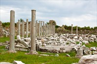 Античные руины Сиде