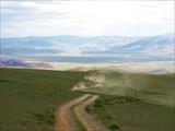 Вид на долину р. Сагсай-гол и г. Буянт