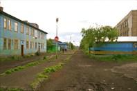 Главная улица в Нижних Тиличиках