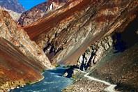 Долина реки Бартанг.