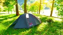 Палатка-НЛО на форелевом