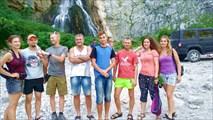 Наша команда на Гегском водопаде