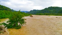 Река Макара, паводок