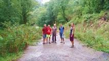 Дорога к Ольгинскому водопаду, Гульрипшский район