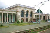 ЖД вокзал Гагр. Абхазия
