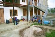 Дом абхаза в котором мы жили перед заброской в горы