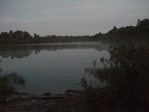 Белая ночь на Шибковском озере.