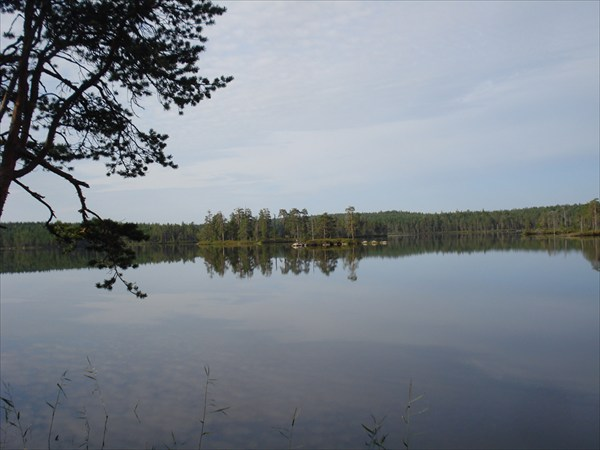Озеро Вехкарви.