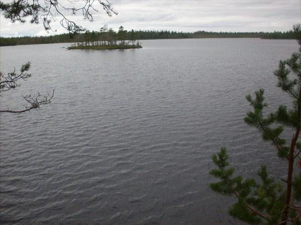 Заветное безымянное озеро.