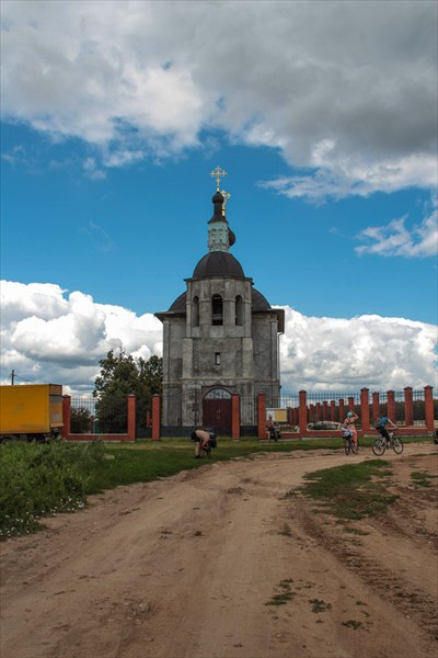 Церковь в Кузовлево