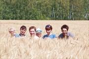 Фотосессия в хлебном месте