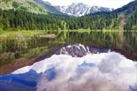 Путешествие к горным зеркалам, или отражения в воде. Автор: Рича