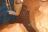 Работа в завале в пещере Космодром