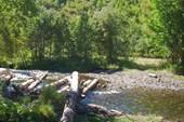 Остатки моста через р.Витница.Автор фото-Надежда-географ