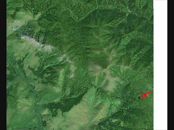 Озеро Перевальное в google maps