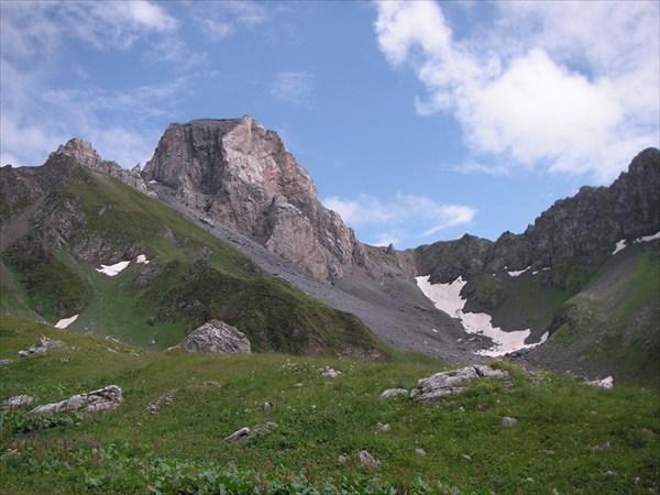 Возле перевала Кырт-Хуа
