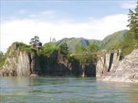 Чемал скит-поселок Чемал