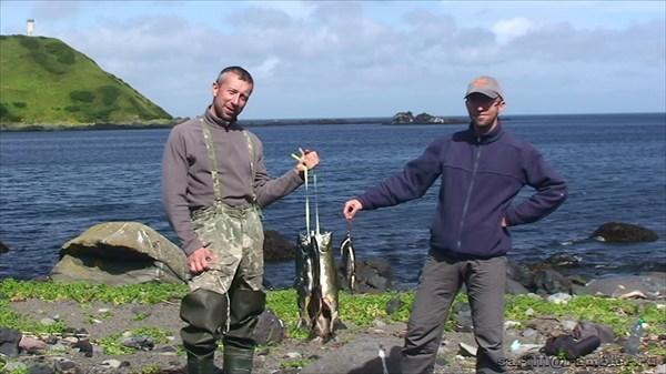 Впервые рыбалка не увлечение, а добыча пропитания!