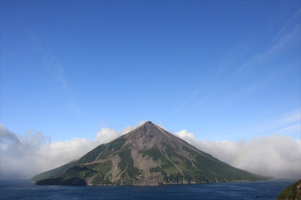 Вулкан Креницына во всей красе