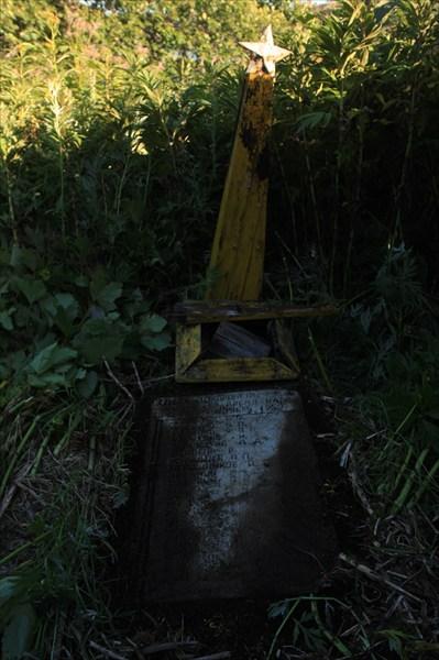 Братская могила погибших от цунами