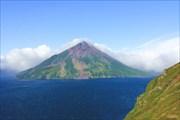 Утром вулкан Креницына как всегда красив!
