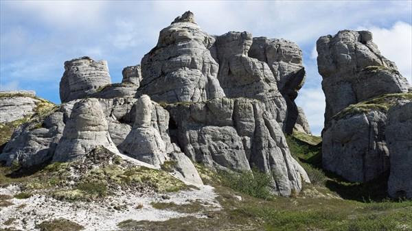 В Каменном городе Белого Кечвожа