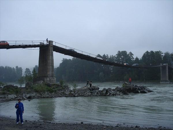 мост через р.Катунь