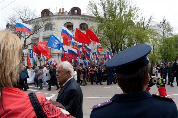 Парад 9 мая в Севастополе.