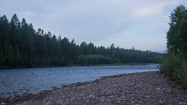 Гутара в районе притока Нижн. Ёрма