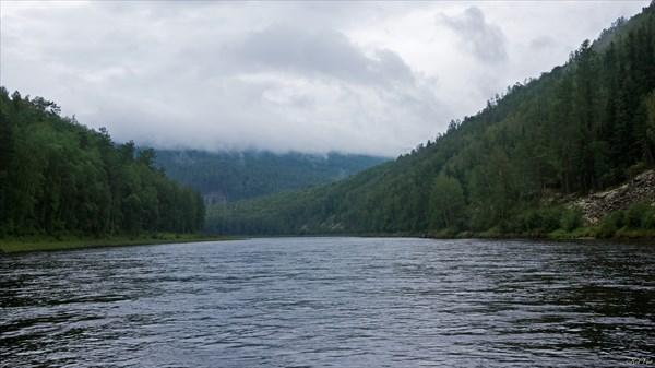 Тагул в районе притока Топорок