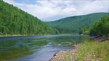 Тагул после притока Малиновка