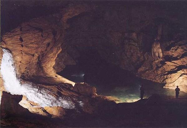 водопад Лимпопо- межень