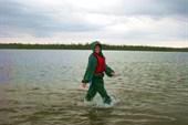 По Капусному озеру :)
