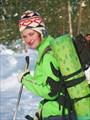 К Яшезерскому монастырю на лыжах