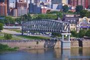 Памятник первому мосту через р.Обь