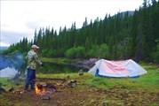 Лагерь на оз. Хара-нур