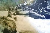 Первая ступень водопада на чаткале