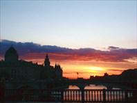 Париж. Закат