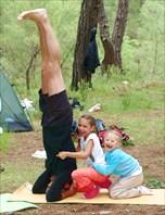 Урок йоги для маленьких