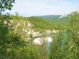 Территория национального парка на дороге №98