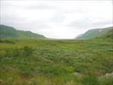 На перемычке. Вид на Hopsfjorden