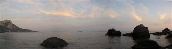 Вечер над морем